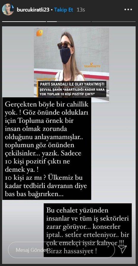 """Burcu Kıratlı'dan Şevval Şahin'e: """"Gerçekten böyle bir cahillik yok"""""""