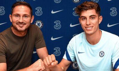 Chelsea, Kai Havertz transferini rekor kırarak açıkladı