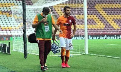 Galatasaray'da Emre Kılınç sakatlandı