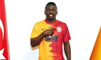 Galatasaray, Oghenekaro Etebo'yu resmen açıkladı