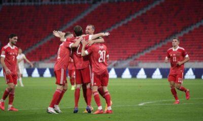 Rusya deplasmanda Macaristan'ı 3 golle geçti