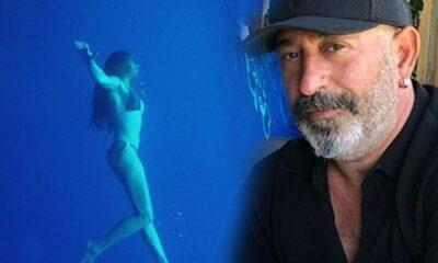 Serenay'dan sevgilisi Cem Yılmaz'a deniz kızı pozları