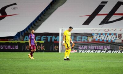 Trabzonspor evinde galibiyeti unuttu