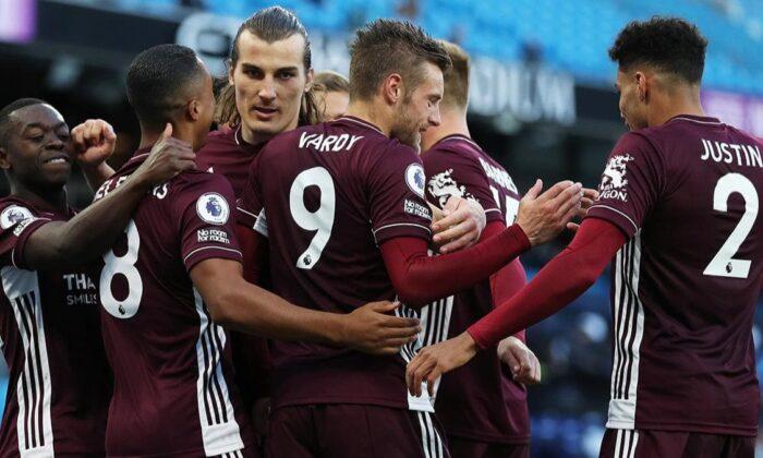 21 dakikada hat-trick yaptı! Leicester City, Manchester City'yi yıktı
