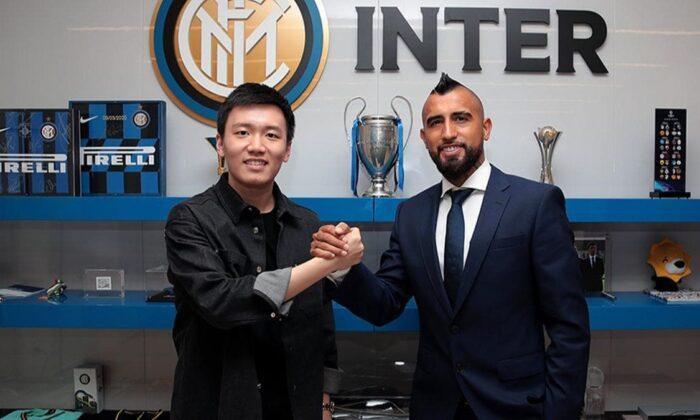Arturo Vidal, resmen Inter'de