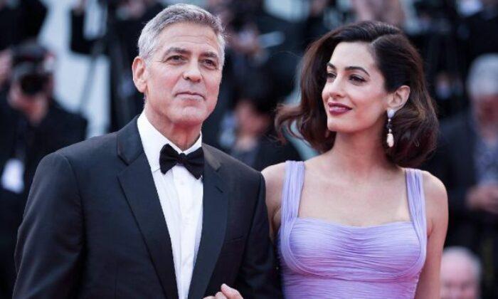 Clooney çiftinden Beyrut'a bağış