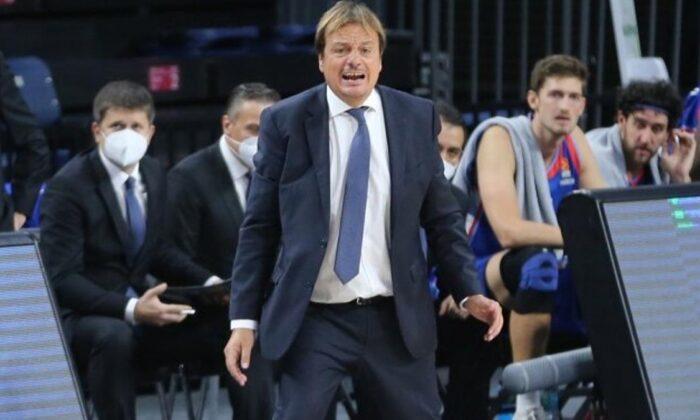 Ergin Ataman: Çok kötü bir basketbol oynadık