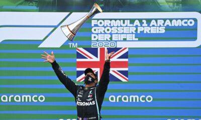Lewis Hamilton, Schumacher'i yakaladı