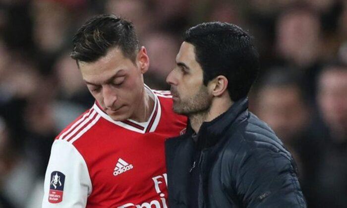Mikel Arteta'dan Arsene Wenger'e Mesut Özil cevabı