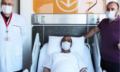 Pandemi sürecinde robotik cerrahi ile mesane kanserinden kurtuldu