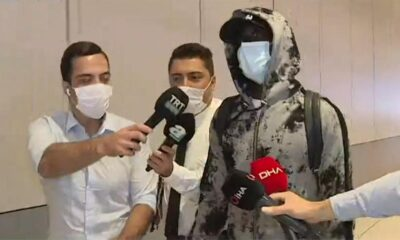 Papiss Cisse Fenerbahçe için İstanbul'da