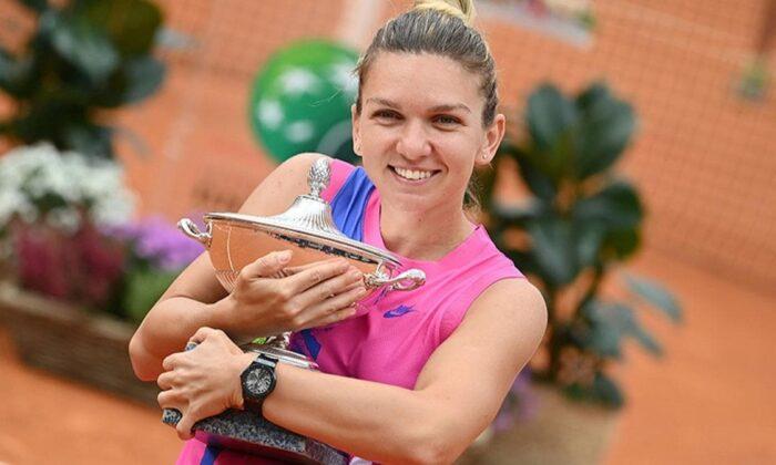 Roma Açık'ta şampiyon Simona Halep