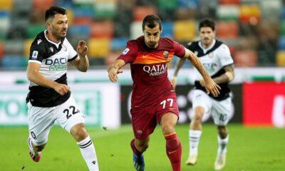 Roma, Tolgay Arslan'lı Udinese'yi tek golle geçti