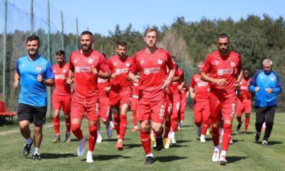 Sivasspor Bolu kampında 24 antrenman yaptı