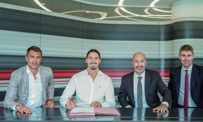 Zlatan Ibrahimovic 1 yıl daha Milan'da