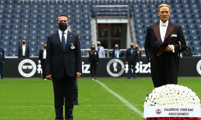 Fenerbahçe'den Atatürk'ü anma töreni