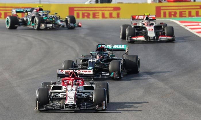 Formula 1 Türkiye GP'de 2'nci antrenman tur sonuçları belli oldu