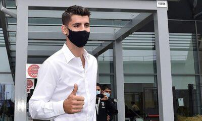 Juventus, Morata'yı 10 milyon avroya kiraladı