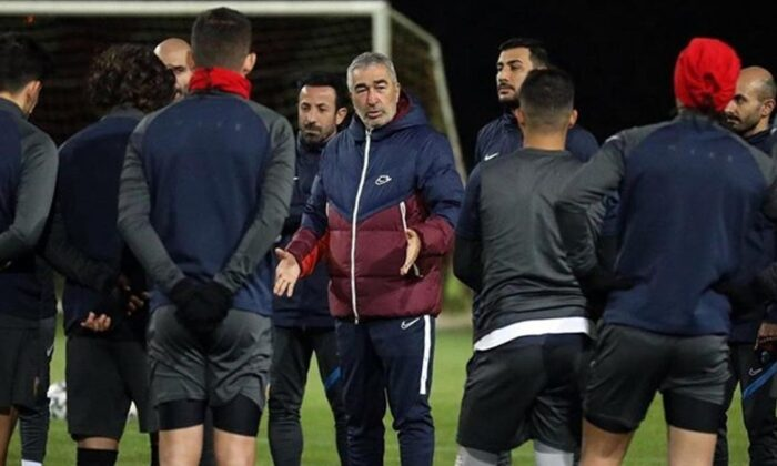 Kayserispor'da Samet Aybaba ilk antrenmanına çıktı