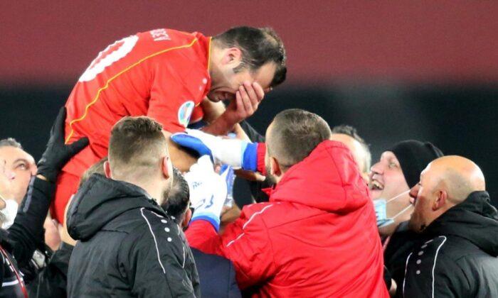 Kuzey Makedonya tarihinde ilk kez Avrupa Şampiyonası'nda