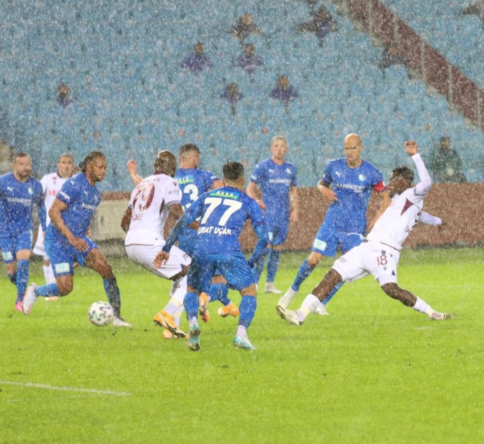Maç sonucu: Trabzonspor 1-0 B.B Erzurumspor