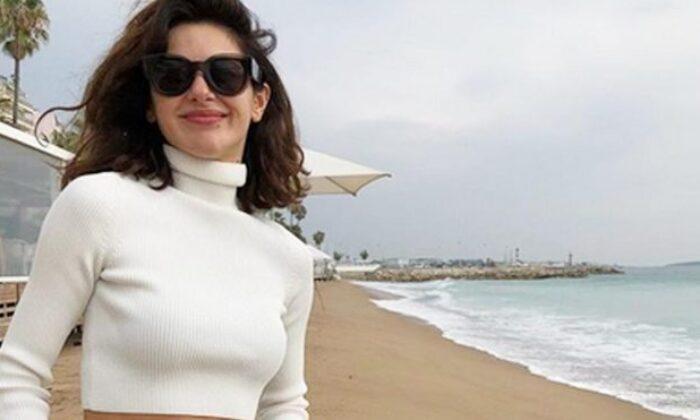 Nesrin Cavadzade video paylaştı, kendisiyle dalga geçti!
