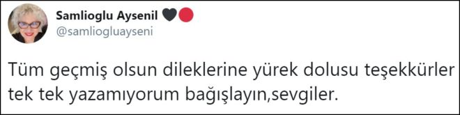 Oyuncu Ayşenil Şamlıoğlu coronaya yakalandı