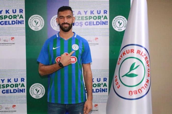 Rizespor Yassine Meriah'ı kiraladı