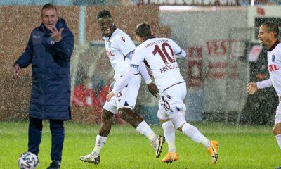 Trabzonspor'da bir ilki gerçekleştirirken 9 yıllık seriyi de korudu