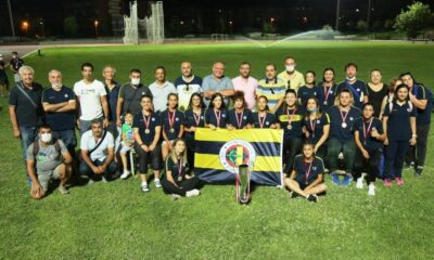 U20 Atletizm Ligi'nde Fenerbahçe şampiyon oldu