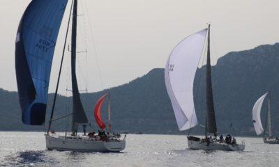 Uluslararası Yelkenli yat yarışı Marmaris'te devam ediyor