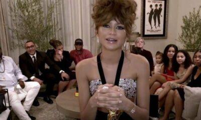Zendaya Emmy Ödülleri'nde tarih yazdı