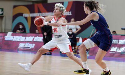 A Milli Kadın Basketbol Takımı uzatmalarda yıkıldı
