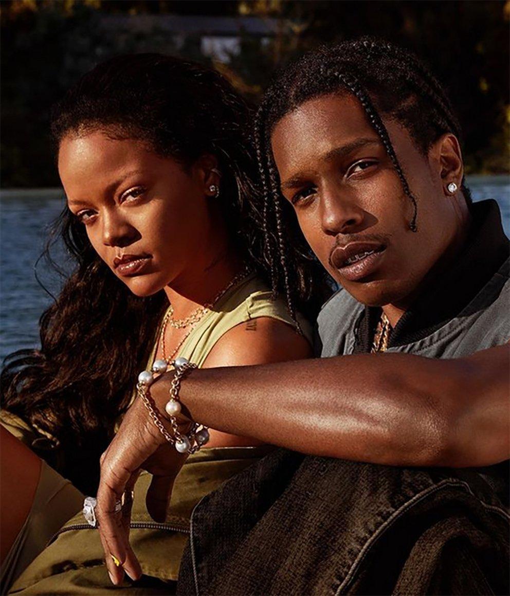 Arap milyarderden ayrılan Rihanna aşkı A$AP Rocky'de buldu