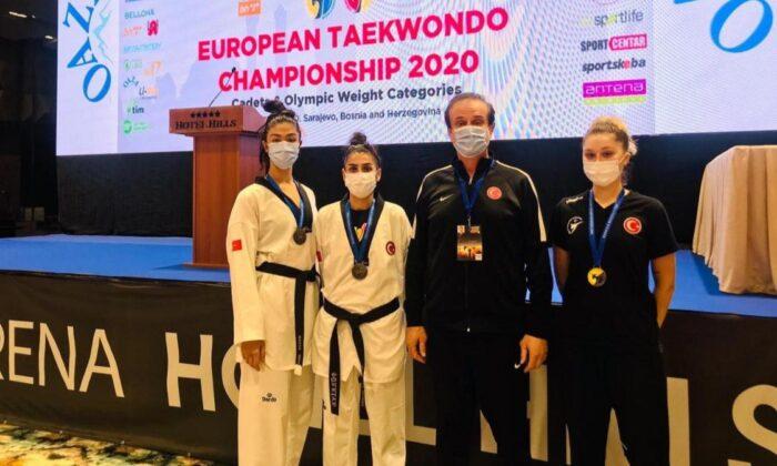Avrupa Tekvando Şampiyonası'nda Millilerden 3 madalya