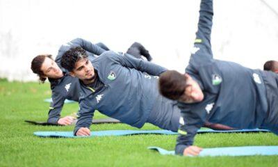Denizlispor'da 4 futbolcu takımdan ayrı çalıştı