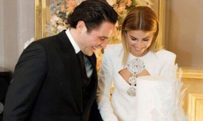 Hacı Sabancı ile Nazlı Kayı'nın nişanından ilk fotoğraf