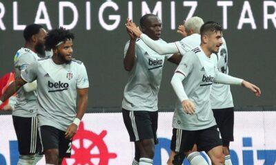Maç sonucu: Beşiktaş 3-0 Kasımpaşa