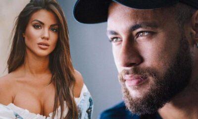 Model Melodie Penalver Neymar'ın takibinde