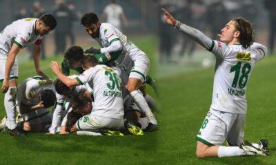 Ali Akman fırtınası! Adana Demirspor 1-2 Bursaspor