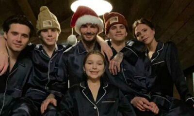 Beckham ailesi corona dinlemedi… Jete atlayıp okyanus aştılar