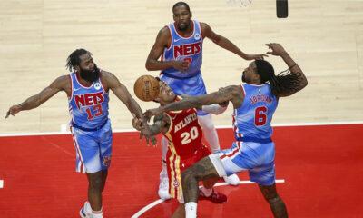 Brooklyn Nets'in muhteşem üçlüsünden 89 sayı