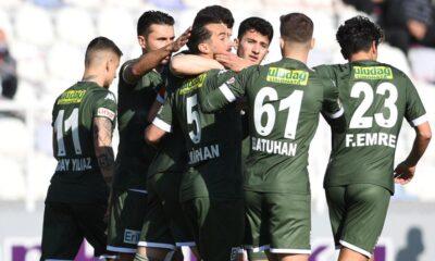 Bursaspor genç yıldızlarıyla 1. Lig'e damga vurdu
