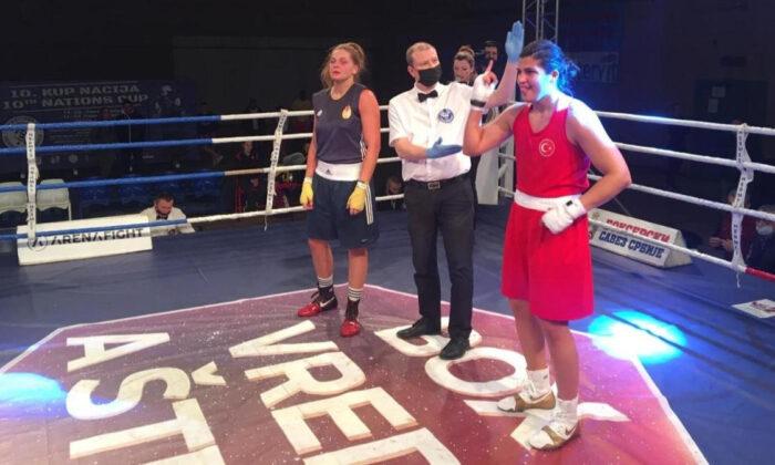 Busenaz Sürmeneli, Uluslararası Boks Turnuvası'nda altın madalya kazandı