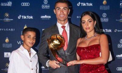 Cristiano Ronaldo oğluyla ilişkisi hakkında konuştu