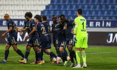 Fenerbahçe'de Erzurumspor maçı öncesi 3 eksik