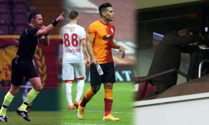 Galatasaray'da Falcao depremi