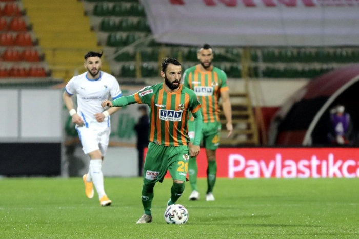 Maç sonucu: Alanyaspor 4-1 Erzurumspor