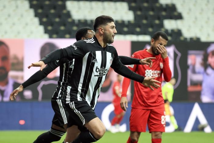 Maç sonucu: Beşiktaş 3-0 Sivasspor