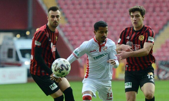 Maç sonucu: Eskişehirspor 0-2 Boluspor
